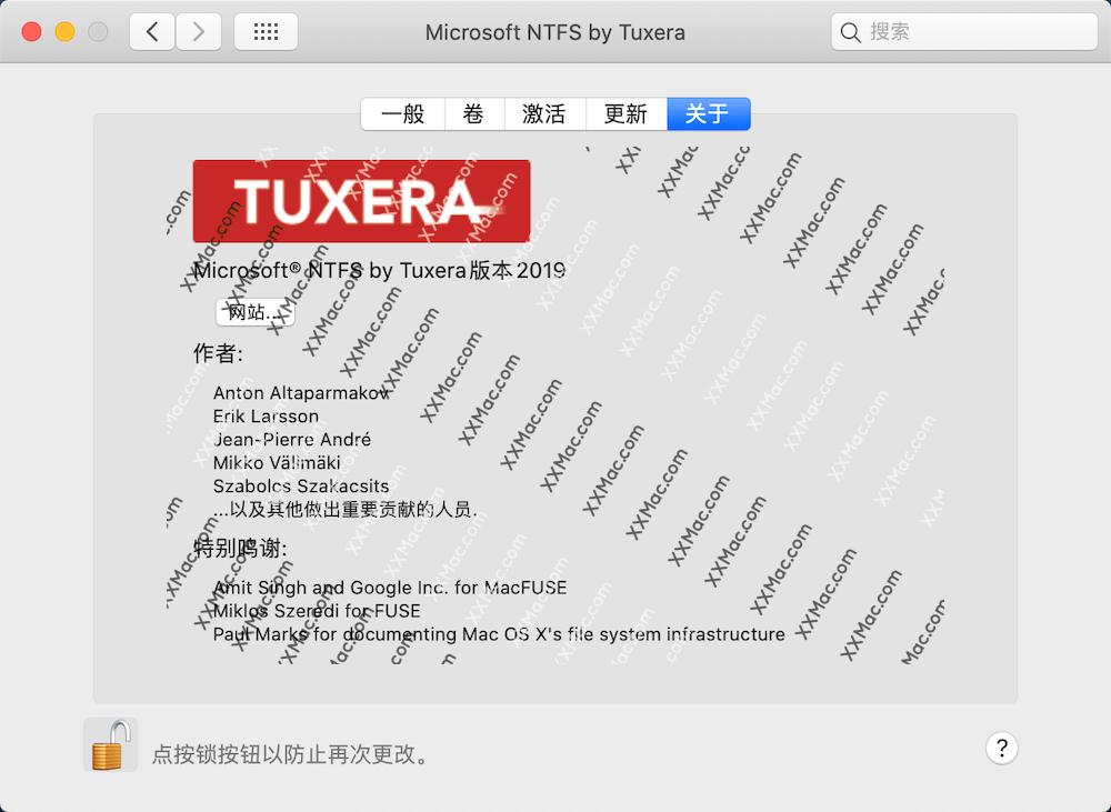 Tuxera NTFS 2020.1 for Mac 中文破解版 U盘读写软件