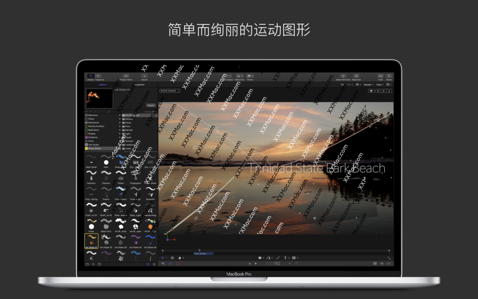 Apple Motion v5.4.2 for Mac中文破解版 视频编辑软件