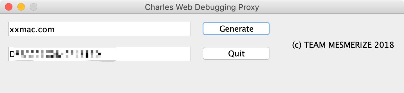 Charles v4.2.7 for Mac英文破解版 抓包工具