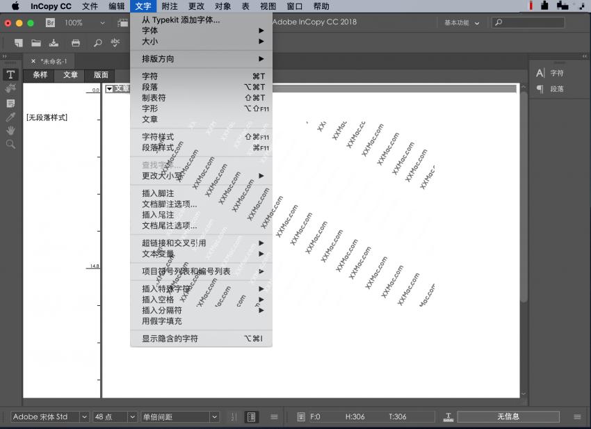 Adobe InCopy CC 2019 for Mac v14.0.2 中文破解版下载 写作编辑软件