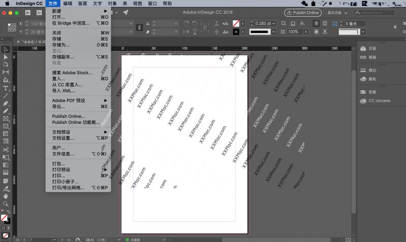 Adobe InDesign CC 2018 v13.1.0.76 for Mac中文破解版 排版编辑软件
