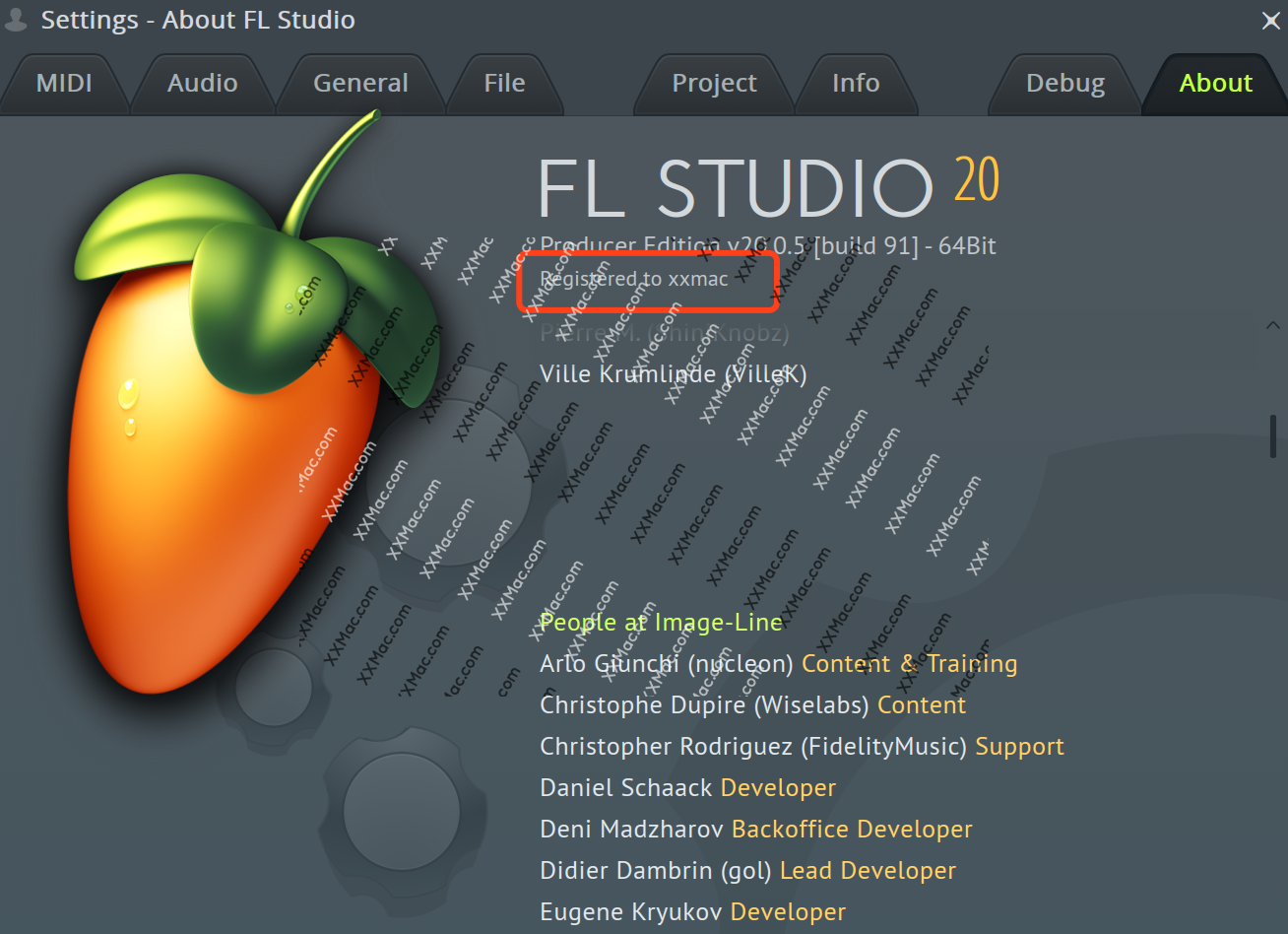 FL studio v20.0.5 for Mac英文破解版 水果音乐编曲软件