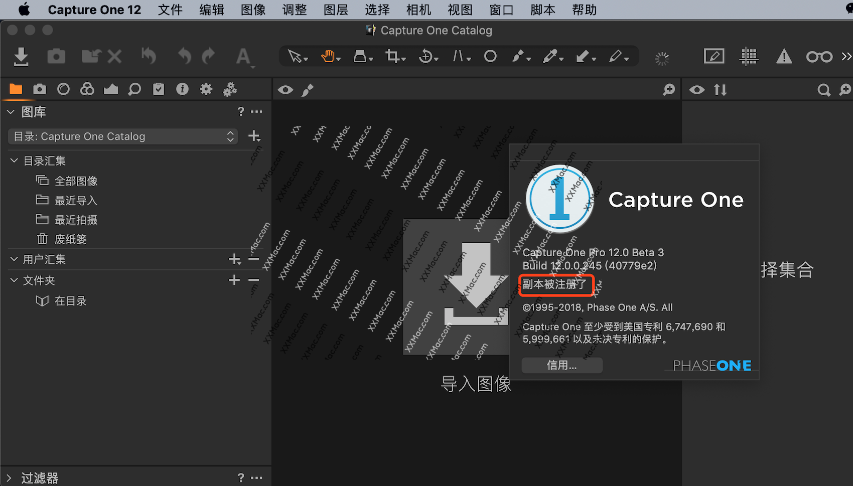 Capture One Pro v12.0.0.245 Beta3 for Mac中文破解版 图像处理软件