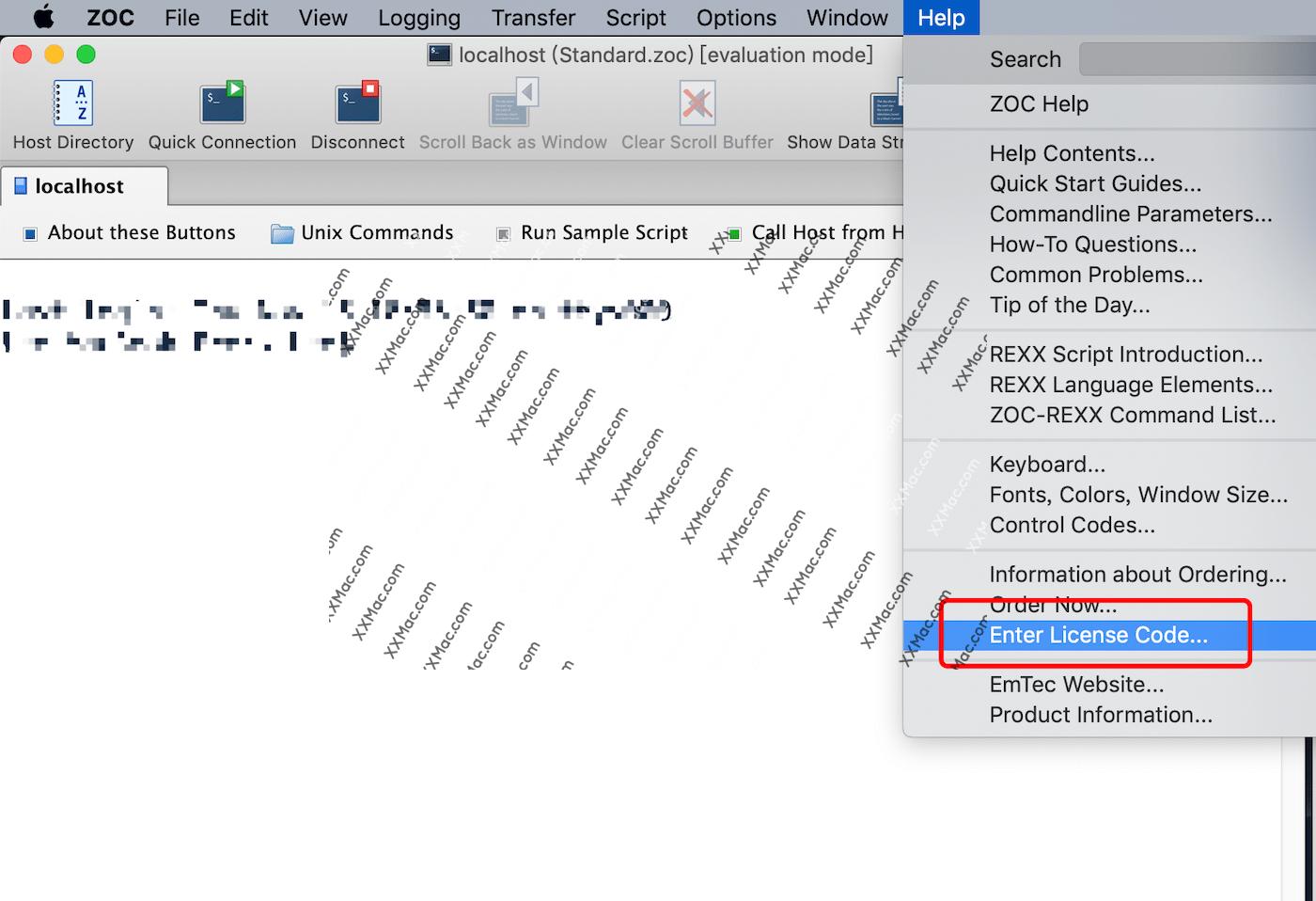 ZOC Termina v7.22.2 for Mac英文破解版 SSH终端命令工具