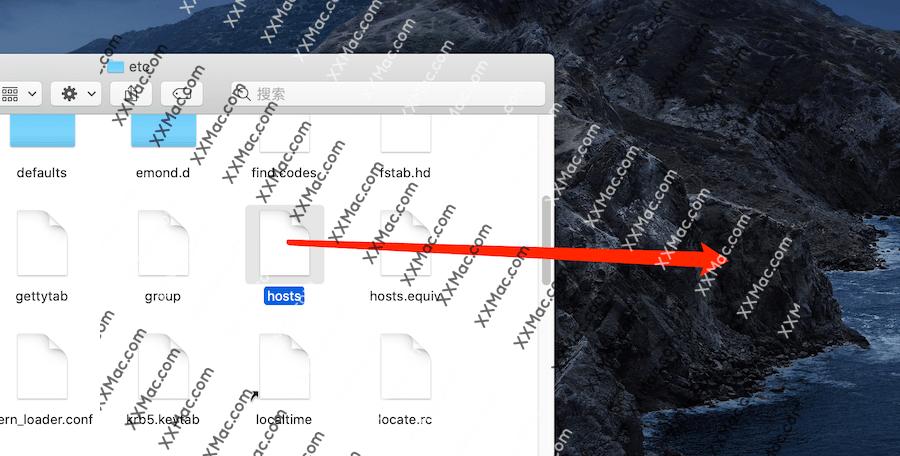 苹果电脑mac hosts文件修改教程
