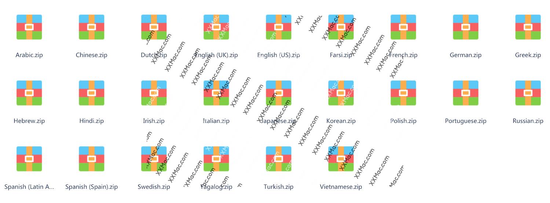Rosetta Stone TOTALe v5.0.37.43113 for Mac中文破解版 罗塞塔石碑语言学习软件 付38G语言完整包