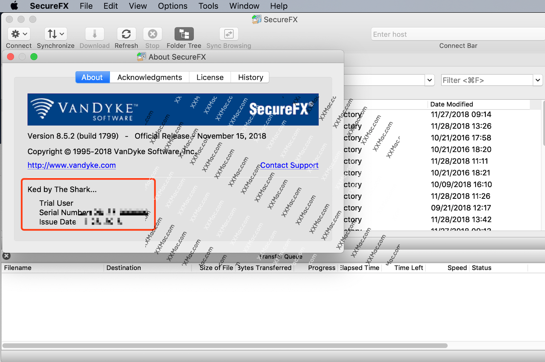 SecureFX for Mac v8.5.4 英文破解版下载 FTP/SSH传输工具