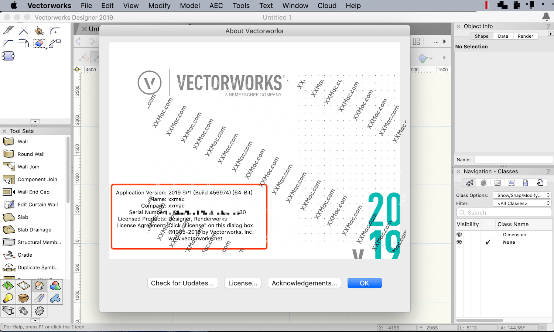 Vectorworks 2019 v24.0.0 SP1 for Mac英文破解版 建筑设计软件