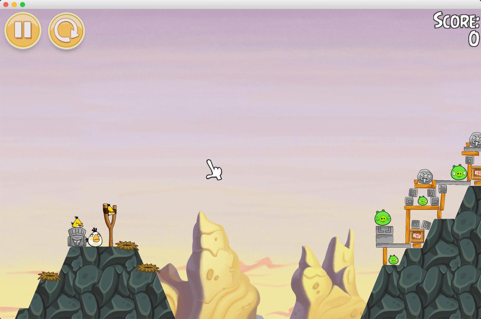 愤怒的小鸟 假日季节版(Angry Birds Seasons)v.4.1.0 for Mac英文破解版 休闲益智游戏