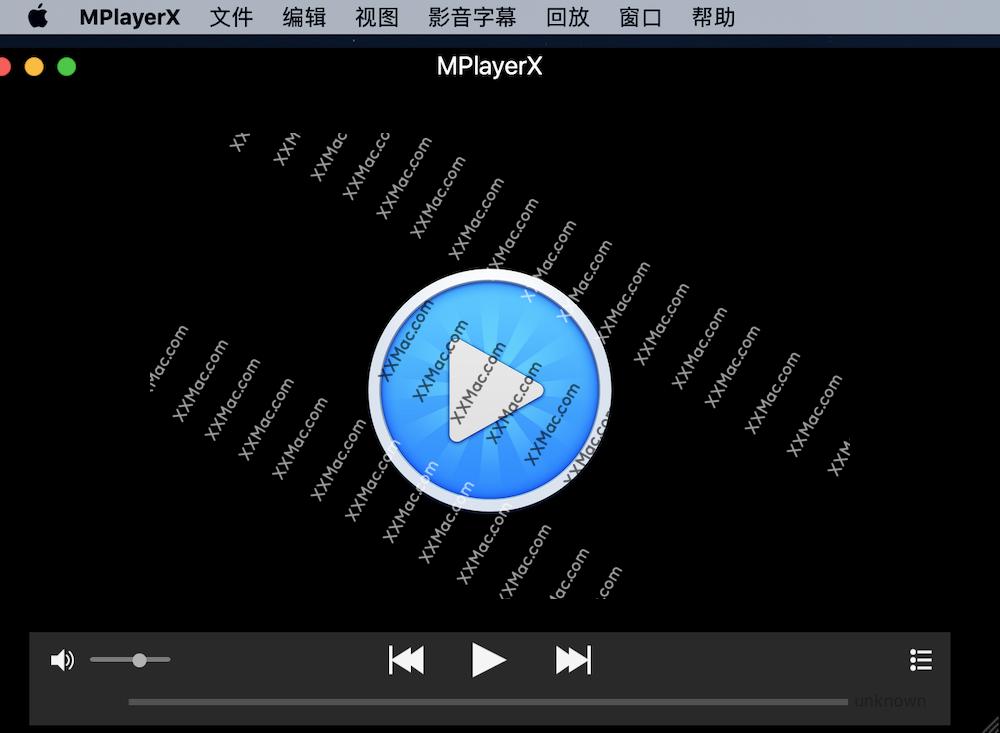 Mplayerx v1.1.4 for mac中文版 视频播放器