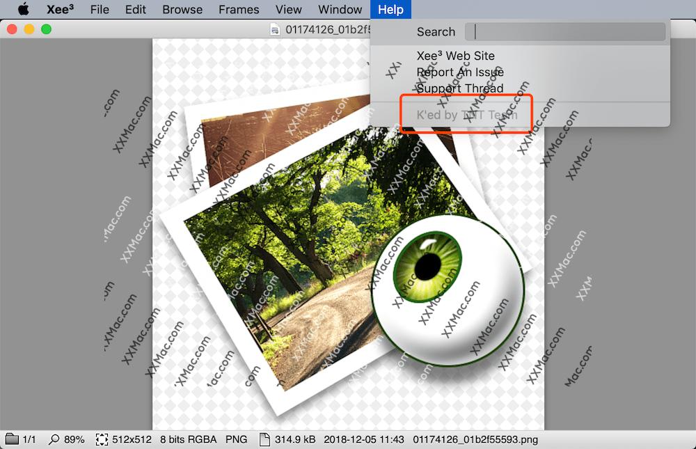 Xee v3.5.3 for Mac英文破解版 看图软件