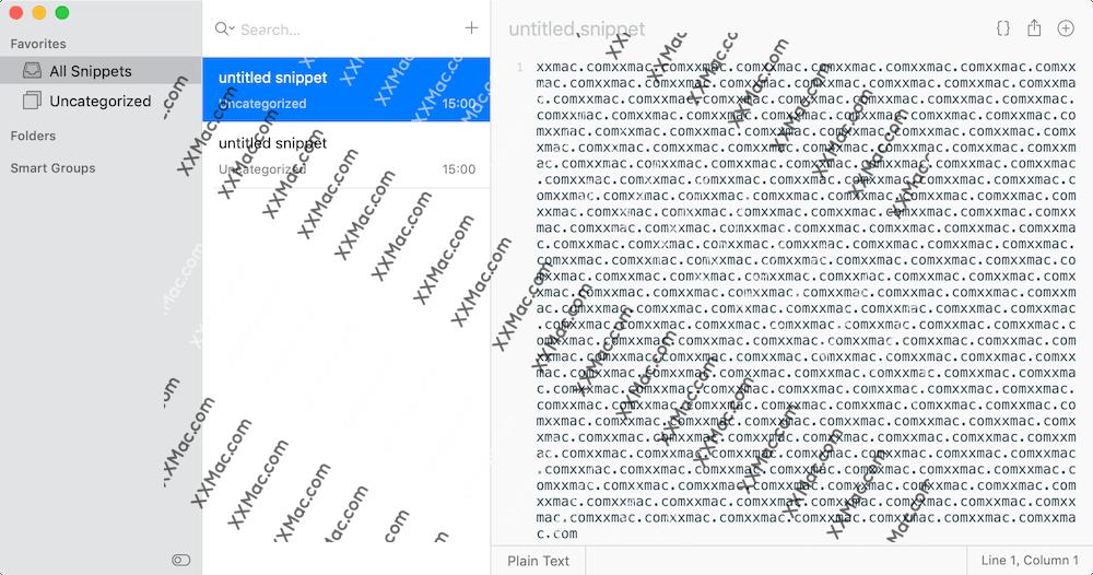 snippetsLab v1.8.1 for Mac英文破解版 代码片段管理工具