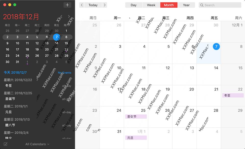 Fantastical for Mac v2.5.9 英文破解版下载 日历软件