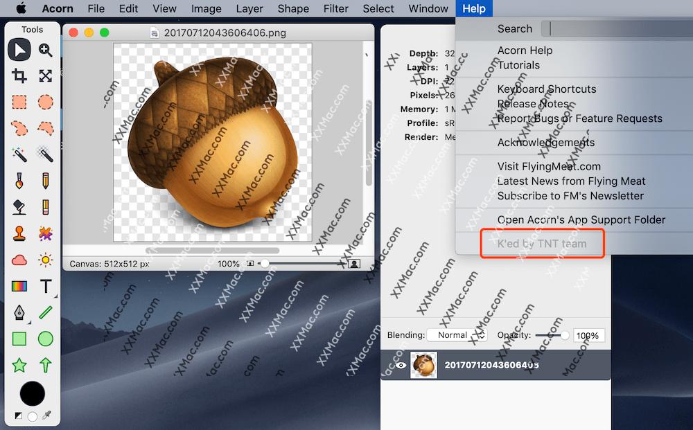 Acorn for Mac v6.3.1 英文破解版下载 图像编辑软件