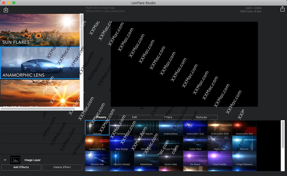 LensFlare Studio v6.5 for Mac英文破解版 光晕光效软件