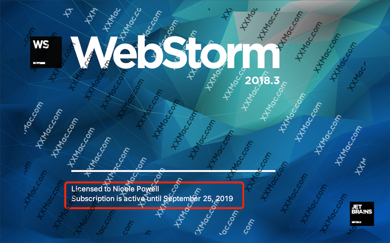 JetBrains WebStorm v2018.3.1 for Mac中文汉化破解版 JavaScript开发工具