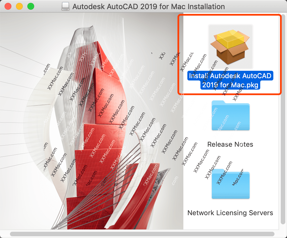Autodesk AutoCAD 2019 for Mac英文破解版 CAD设计软件