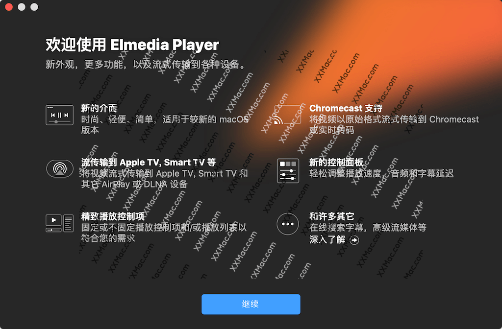 Elmedia Video Player Pro v7.1(1638) for Mac中文已激活版 视频播放器