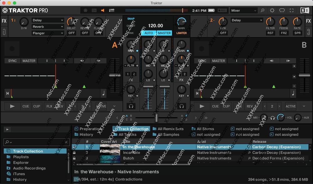 Traktor Pro 3 for Mac v3.0.2 英文破解版下载 专业DJ软件