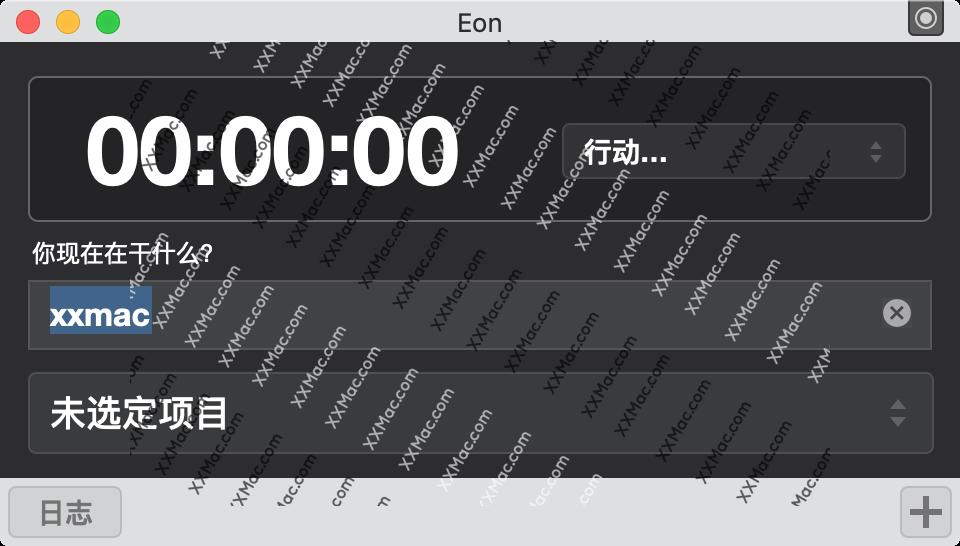 Eon Timer for Mac v2.8.3 中文破解版下载 时间记录软件