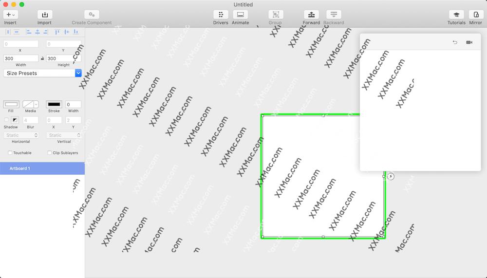 Principle for Mac v5.3 英文破解版 交互原型设计工具