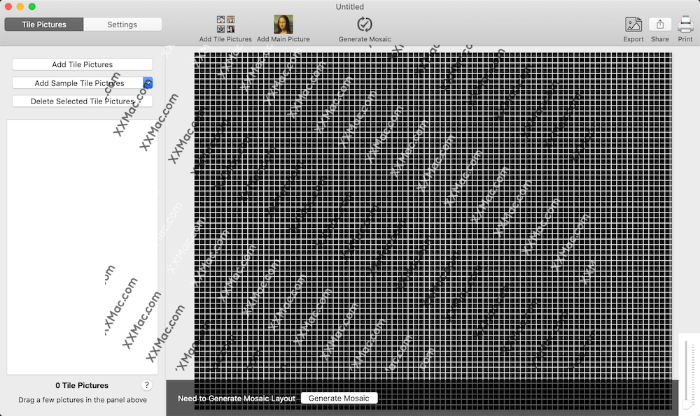 TurboMosaic for Mac v3.0.12 英文破解版下载 马赛克图片制作软件