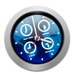 iClock Pro for Mac v4.6.2 英文破解版下载 菜单栏时钟软件