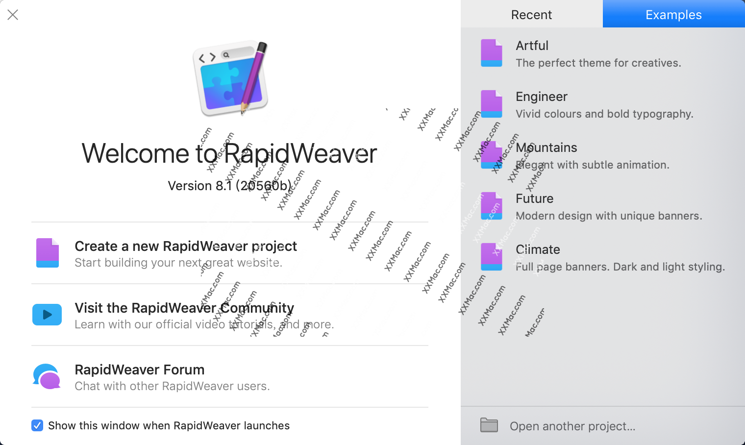 RapidWeaver for Mac v8.1.5 英文破解版下载 网页设计软件