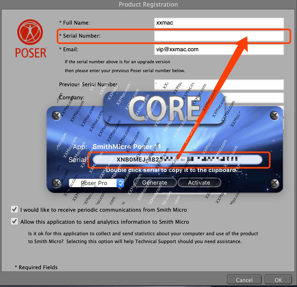 Smith Micro Poser Pro for Mac v11.1.1.35510 日文破解版下载 人体三维动画制作软件