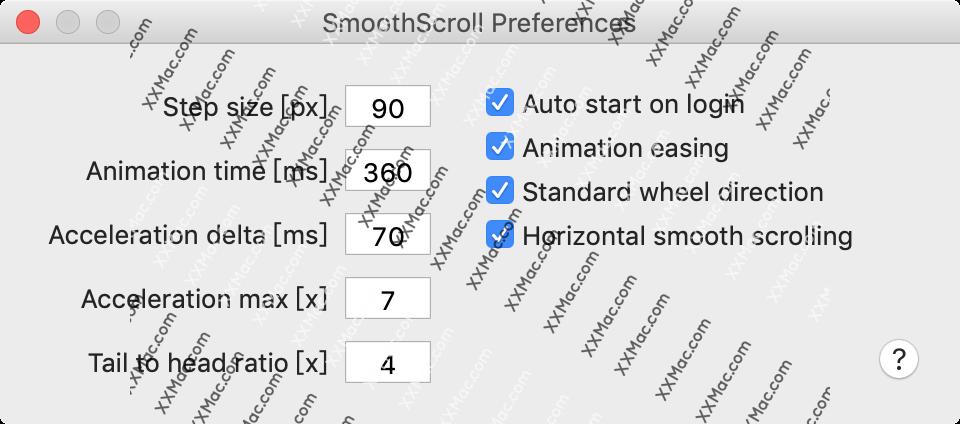 SmoothScroll for Mac v1.4.8 英文版破解版下载 鼠标控制工具
