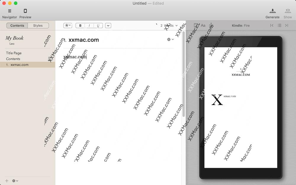 Vellum for Mac v2.3.1 英文破解版下载 电子书制作软件