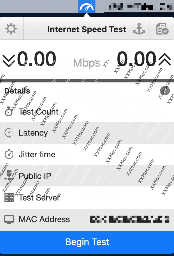 InternetSpeedTest for Mac v2.9.1 破解版下载 网速测试软件