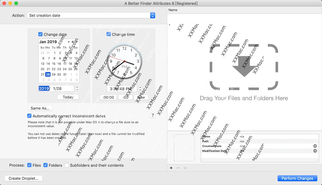 A Better Finder Attributes for Mac v6.16 英文破解版下载 文件属性批量修改软件