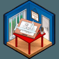 Sweet Home 3D for Mac v6.2.1 中文破解版下载 3D室内设计软件
