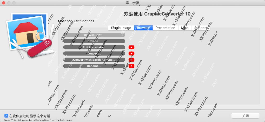 GraphicConverter 10 for Mac v10.6.8 中文破解版下载 图片浏览编辑软件