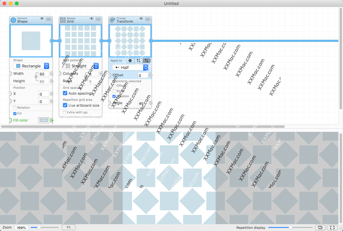 Patternodes for Mac v2.1.8 英文破解版下载 矢量绘图软件