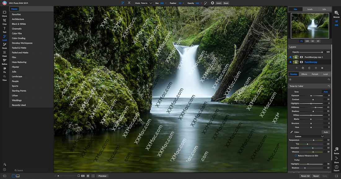 ON1 Photo RAW 2019.2 for Mac v13.2.0.6564 英文破解版下载 照片编辑软件