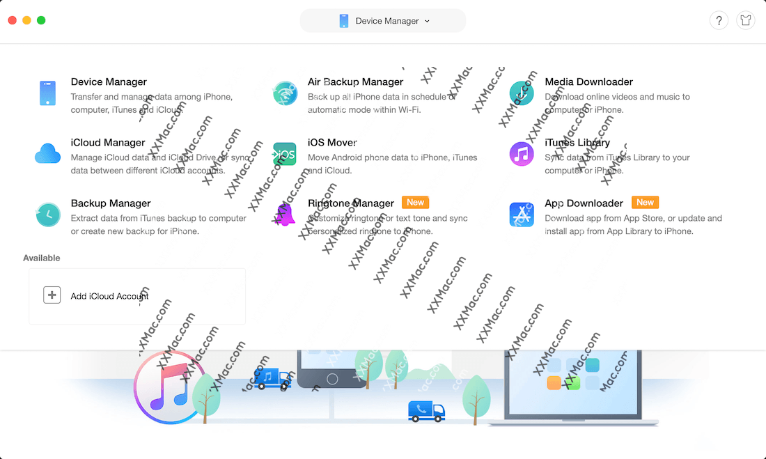 AnyTrans for Mac v7.0.4 英文破解版下载 iOS管理软件