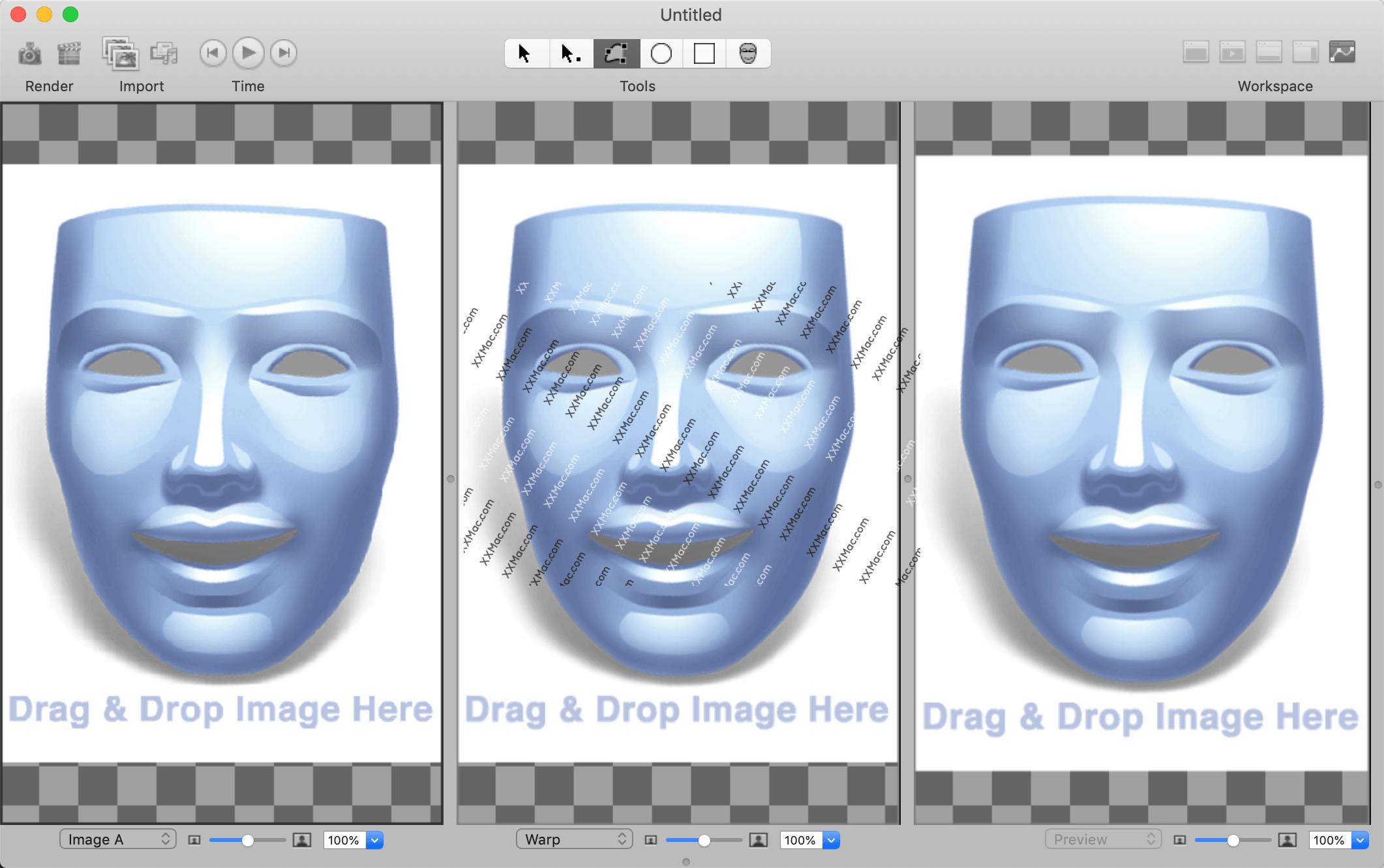 Morph Age for Mac v5.0.3 英文破解版下载 人脸拼接软件