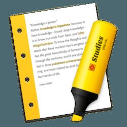 Studies for Mac v1.7.8 英文破解版下载 抽认卡制作软件