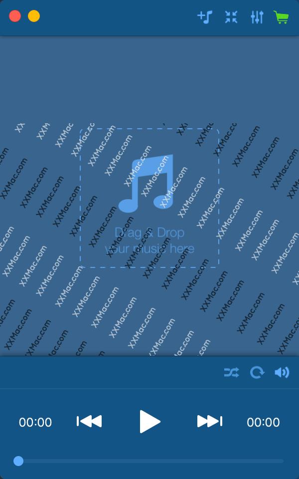 Music Paradise Player for Mac v3.0.3 英文破解版下载 多功能音乐播放器