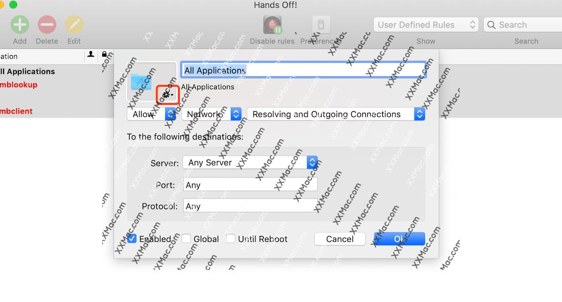 Hands Off! for Mac v4.2.1 英文破解版下载 Mac防火墙软件
