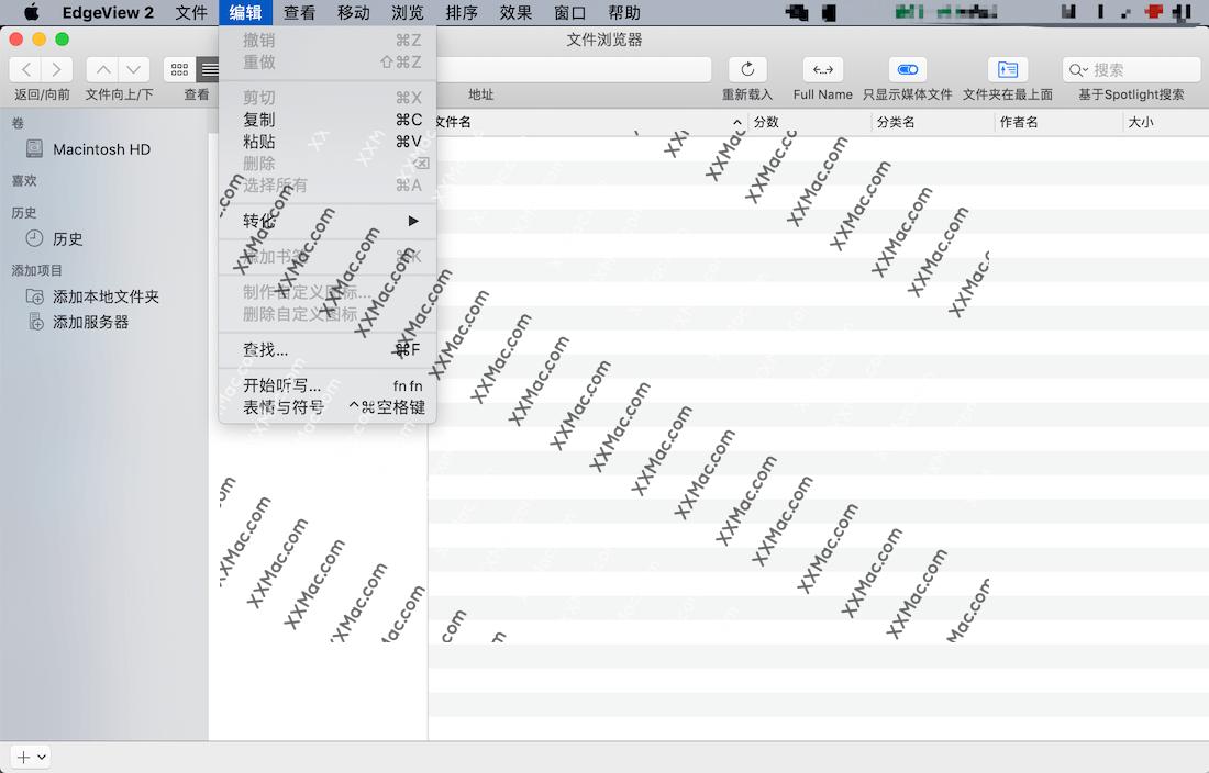 EdgeView for Mac v2.790 中文破解版下载 图像查看软件