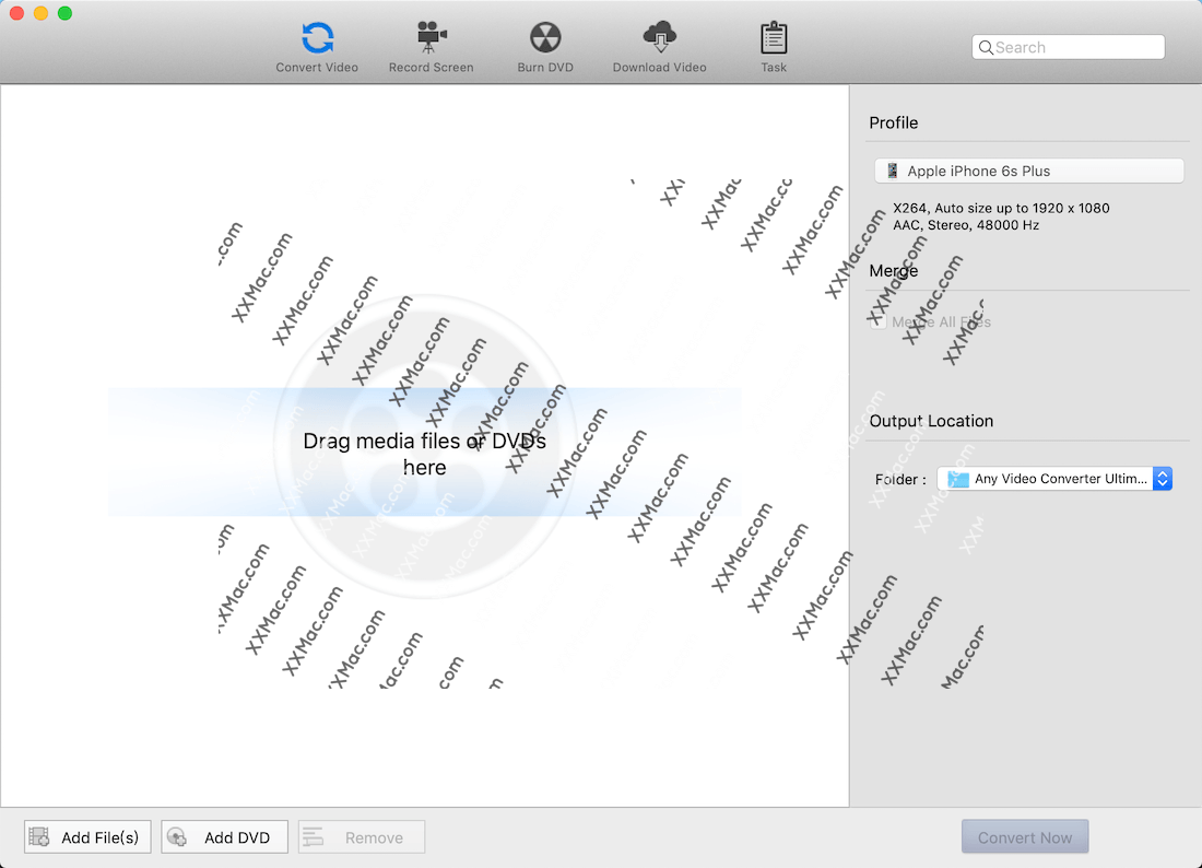 Any Video Converter Ultimate for Mac v6.1.10 英文破解版下载 视频转换工具