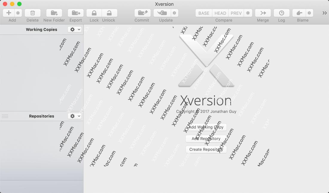 Xversion for Mac v1.3.7 英文破解版下载 SVN客户端