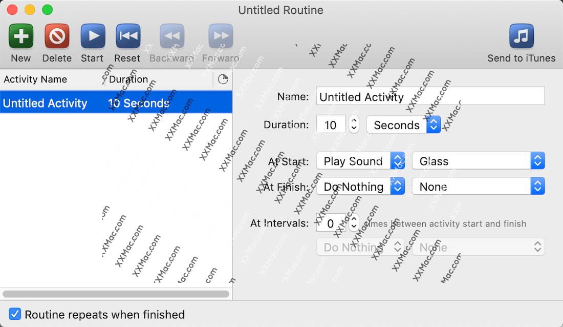 FlexTime for Mac v1.4 英文破解版下载 计时软件