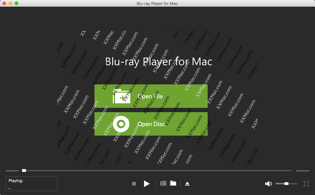 Blu-ray Player for Mac v1.1.8 英文破解版下载 蓝光视频播放软件