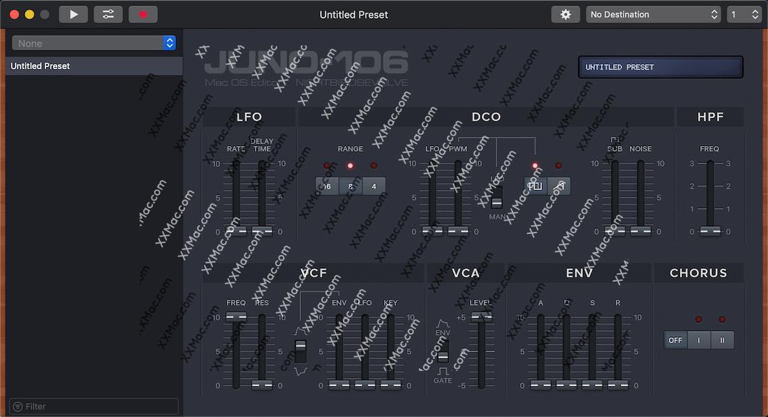 Juno Editor for Mac v2.3.3 英文破解版下载 预设编辑器和库软件