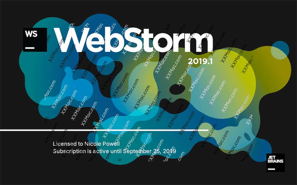 JetBrains WebStorm for Mac v2019.1 中文汉化破解版下载 JavaScript开发工具