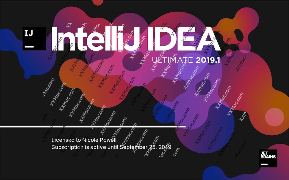JetBrains IntelliJ IDEA for Mac v2019.1.2 中文汉化破解版下载 java开发环境